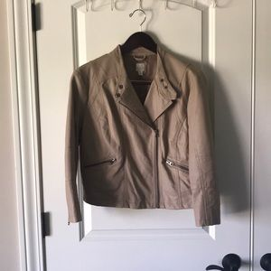 LC Lauren Conrad Faux Leather Jacket